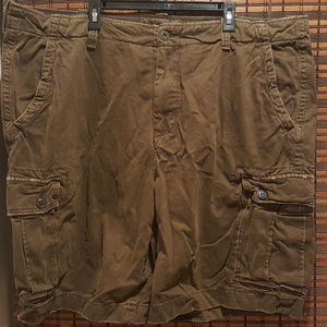 American Eagle Men's Classic Length Brown Cargo 48